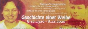 Schönstatt-Frauenbund Jubiläum 2020 Gertraud von Bullion Marie Christmann