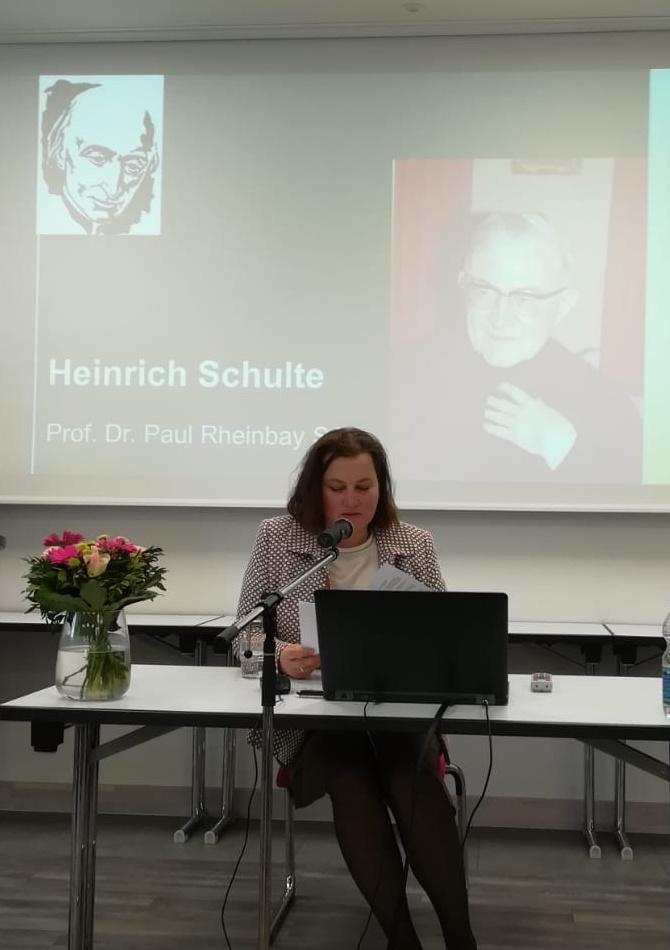 Schönstatt-Frauenbund, Vallendar, Vortrag