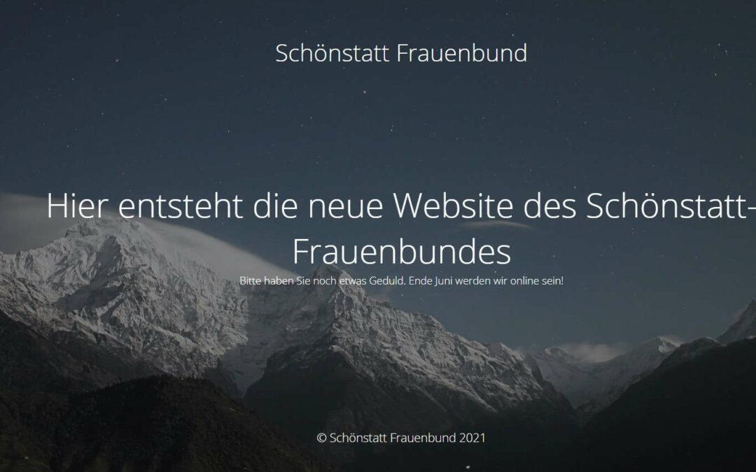 Neue Homepage geht online